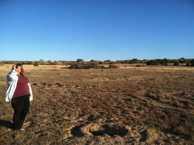 Sandy at Prairie Dog Hole