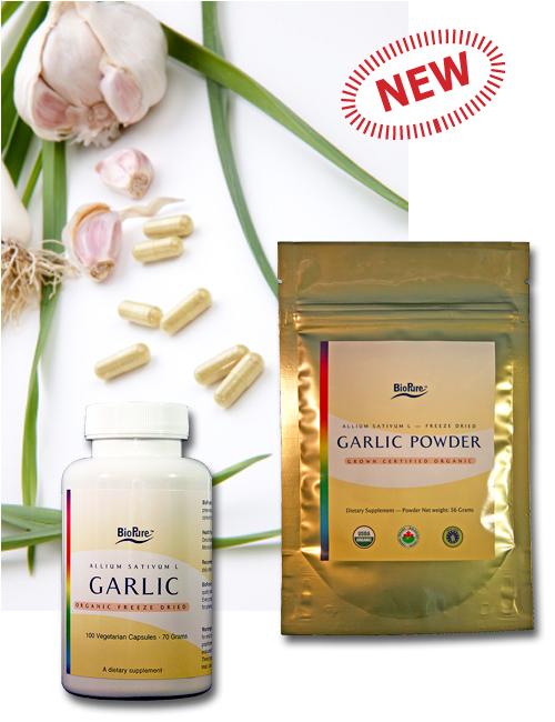 garlic bulletin ad