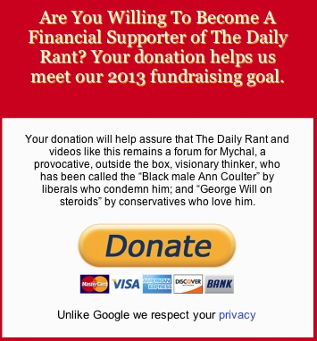 The Daily Rant 2013 Fundraising