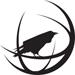 Globe and Crow - Black Small