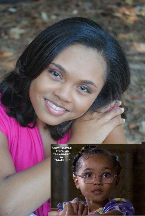 Houghton talent kiami davael best known as lavender in matilda imdb malvernweather Images