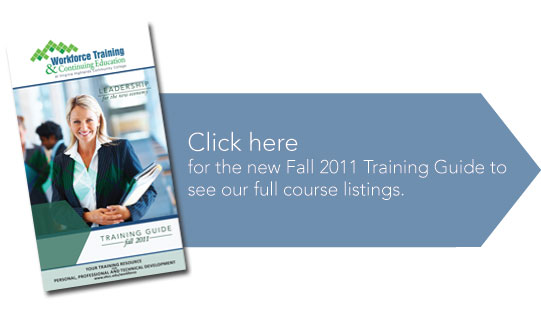 Fall 2011 Training Guide