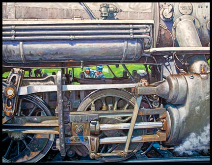 Oiling the 28 by Gary Symington