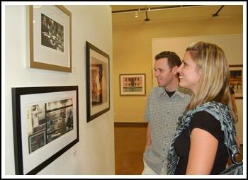 Visitors at The Gallery at 48 Natoma