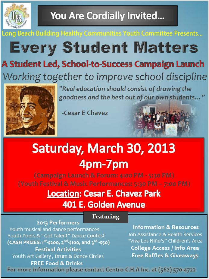 Every Student Matters Flyer