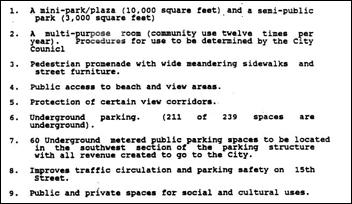 Hotel Specific Plan - Public Benefits