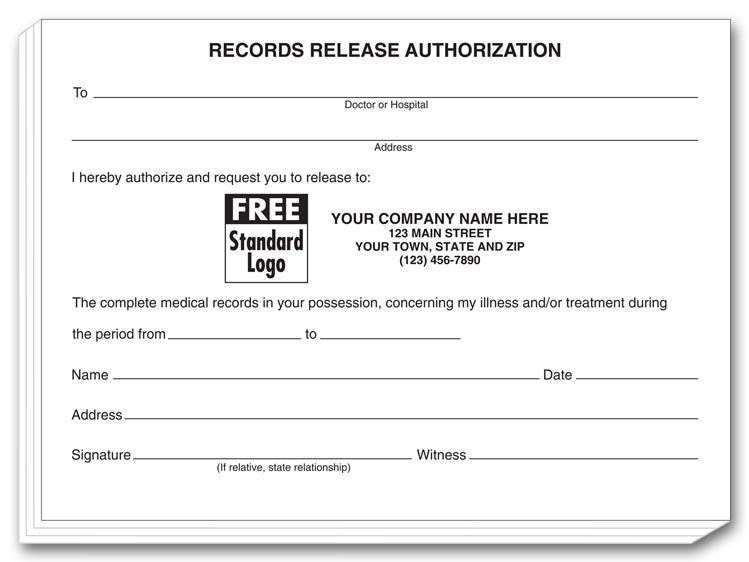 Hipaa Authorization Form. Two-Part Patient Disclosure Au Medical ...
