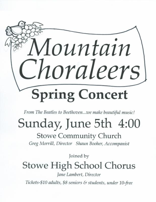 Mountain Choraleers Concert