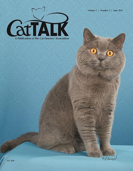 Cat Talk Cover 0611