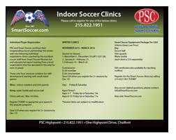 Indoor Soccer Clinics 10-21-15v1
