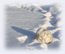 soccer snow ball