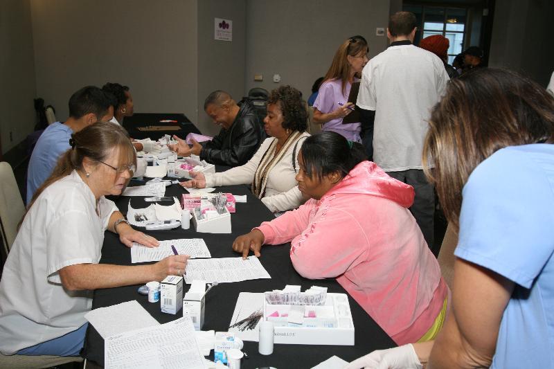 Atlanta Women Receive FREE Health Screenings @ CBWW's Family Health & Beauty Expo