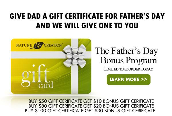 Father's Day Bonus Program