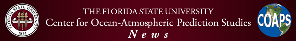 FSU COAPS news header
