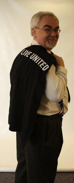 Bruce Shirt Over Shoulder