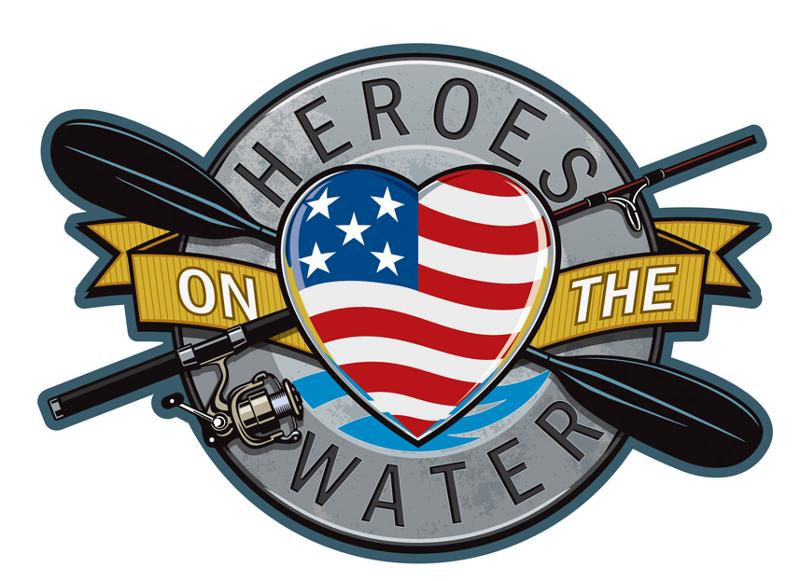 Hero's On The Water Logo