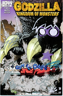 Godzilla Crew Signed Edition