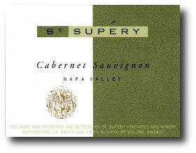 Supery Cabernet Label