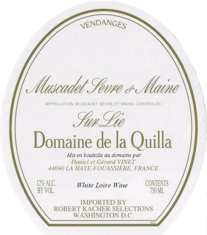 Other Quilla Muscadet Label