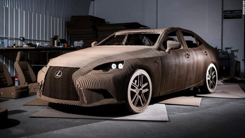 Cardboard Lexus