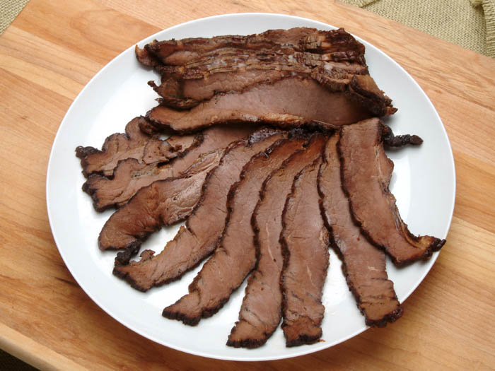 Smoked Sliced Brisket