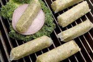 Chicken Feta Spinach Sausage Links