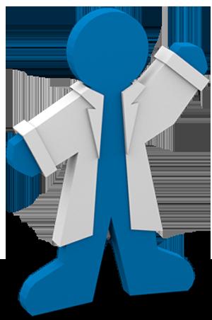 Addgene mascot waving