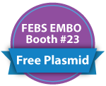 FEBS EMBO Booth 23 Free Plasmid
