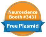 SFN 2014 Booth #3431 - Stop by to get a free plasmid