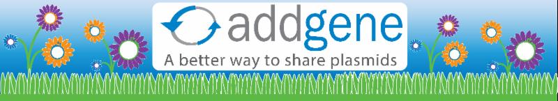 Addgene Spring Banner
