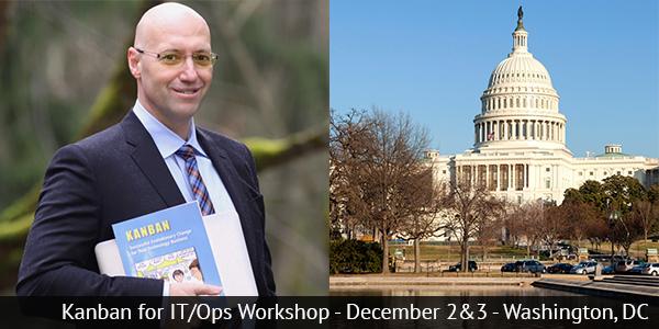 Kanban for IT/Ops Workshop - December 2&3 - Washington, DC