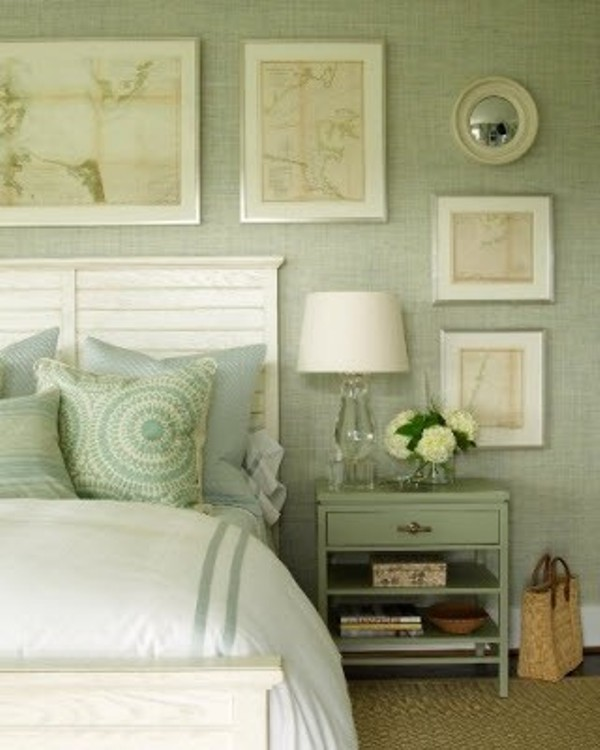 "Mint Green Bedroom Decor: ""Not So Simple"" Windows"