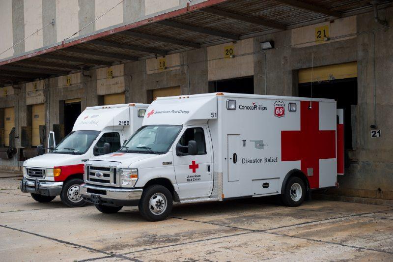 Red Cross supplies
