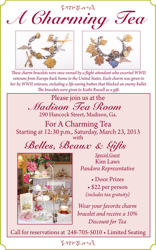 Madison Tea Room - Charming Tea
