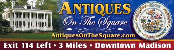Antiques On The Square billboard