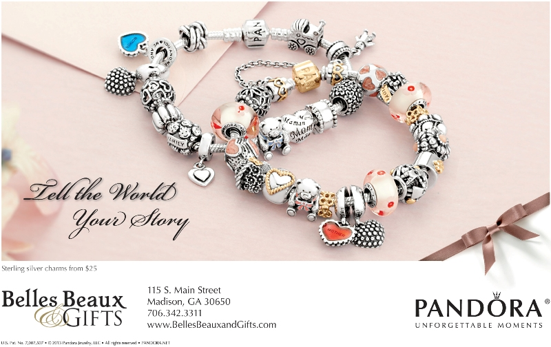 Pandora for Mother's Day at Belles Beaux & Gifts