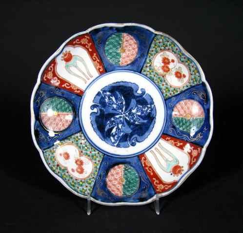 antique Japanese Imari plate circa 1850
