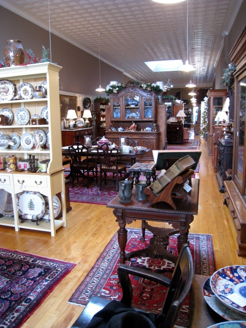 Antiques On The Square Interior