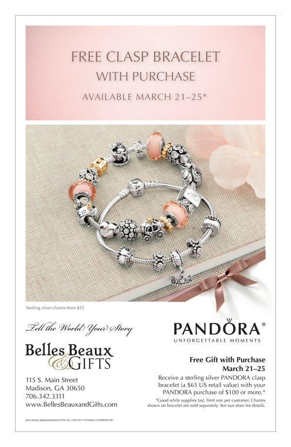 Pandora Free Bracelet - March 2013