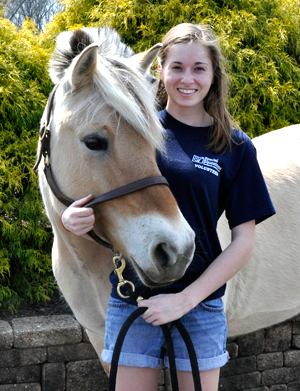 Amanda and her horse, Sonja