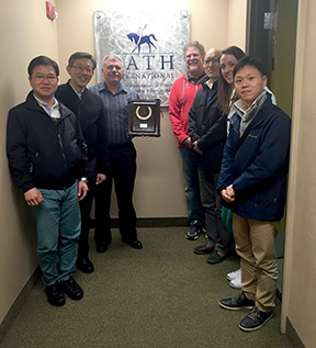 south korean racing authority delegation