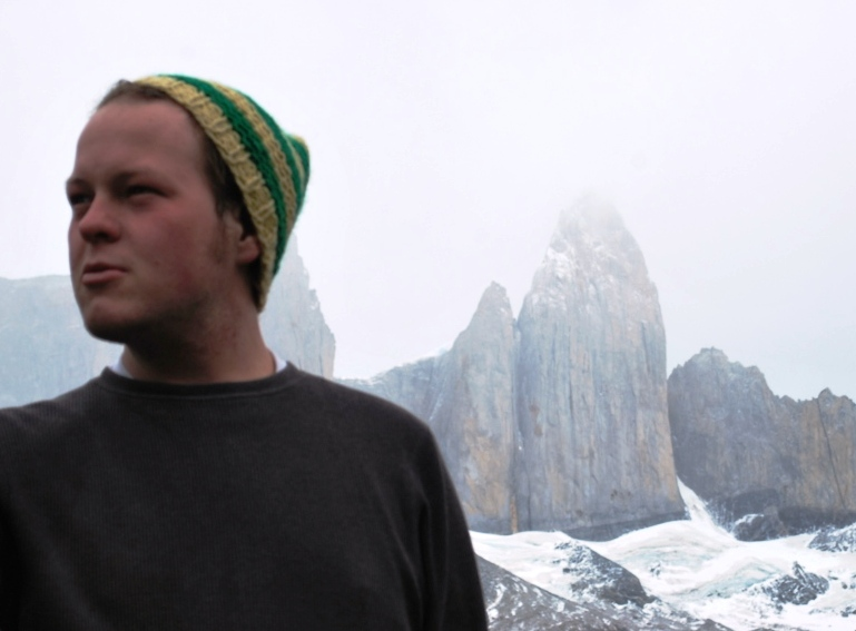 Brian Buh in the Parque Nacional Torres del Paine