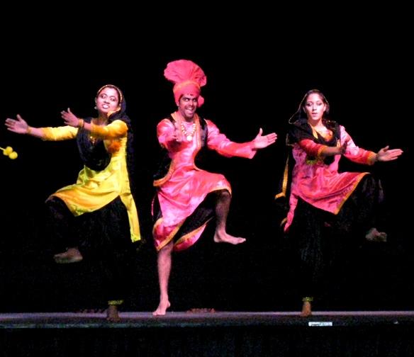 bridging fiesta dancing