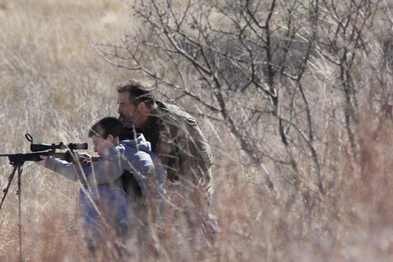 trinity oaks tom and boy shooting broadside