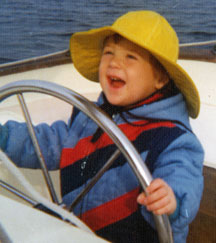 Christopher Shippee at helm