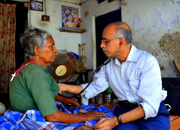 Dr Raj w Patient