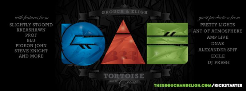 993 The Grouch & Eligh detail 3x album + Kickstarter