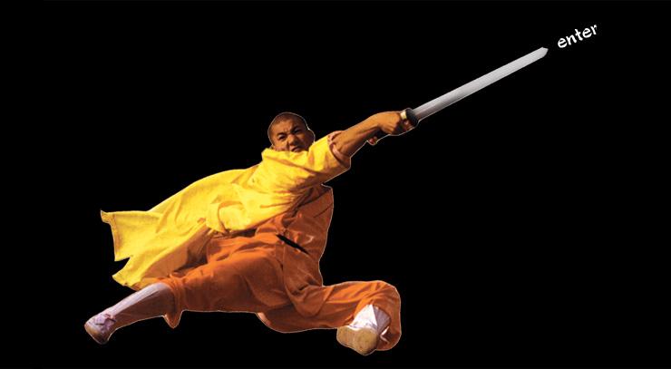 shaolin flying monk