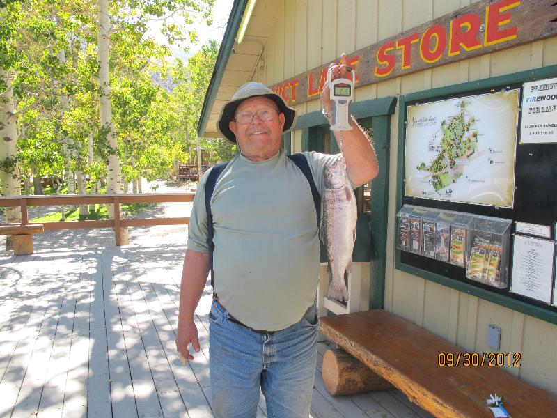 Convict lake fishing report 10 06 2012 for Lopez lake fishing report
