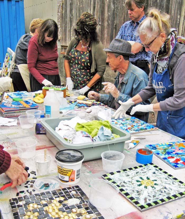 Jane's SCRAP Mosaics wksp 2011
